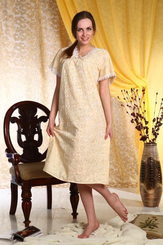 Ночная сорочка КарензСорочки и ночные рубашки<br>Размер: 58<br><br>Принадлежность: Женская одежда<br>Основной материал: Батист<br>Страна - производитель ткани: Россия, г. Иваново<br>Вид товара: Одежда<br>Материал: Батист<br>Длина рукава: Короткий<br>Длина: 18<br>Ширина: 12<br>Высота: 7<br>Размер RU: 58