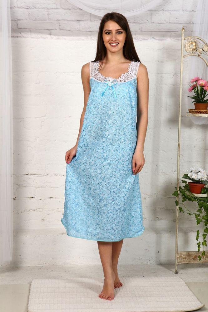 Ночная сорочка КианаСорочки и ночные рубашки<br>Размер: 50<br><br>Высота: 7<br>Размер RU: 50