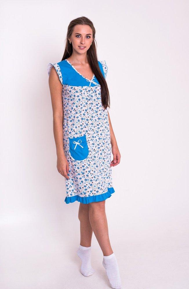 Ночная сорочка ДарьяСорочки и ночные рубашки<br>Нежная, изысканная, элегантная - как вы думаете, о чем дет речь? Конечно же, о женской ночной сорочке Дарья, которую мы хотим представить вашему вниманию в каталоге нашего интернет-магазина.<br>Мы уверены, что идеальная ночная сорочка должна быть именно такой. Она имеет полуприталенный фасон и расширенную к низу юбку. Помимо того, что имеет очень красивый и неповторимый стиль, является довольно практичной, ведь изготовлена из экологически чистой ткани и не стесняет движений.<br>Наравне с этим вас очень обрадует цена ночной сорочки, ведь редко где вы еще встретите высокое качество практически даром! Размер: 56<br><br>Принадлежность: Женская одежда<br>Основной материал: Кулирка<br>Страна - производитель ткани: Россия, г. Иваново<br>Вид товара: Одежда<br>Материал: Кулирка<br>Сезон: Лето<br>Длина рукава: Короткий<br>Длина: 19<br>Ширина: 13<br>Высота: 4<br>Размер RU: 56