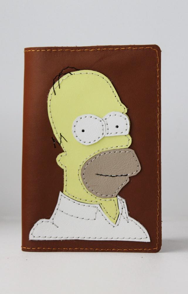 """Обложка для паспорта """"Гомер"""" от Grandstock"""
