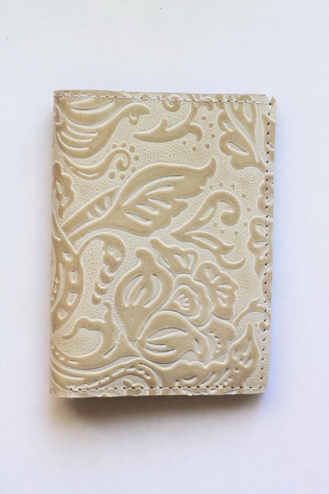"""Обложка для паспорта """"Цветы 2"""""""