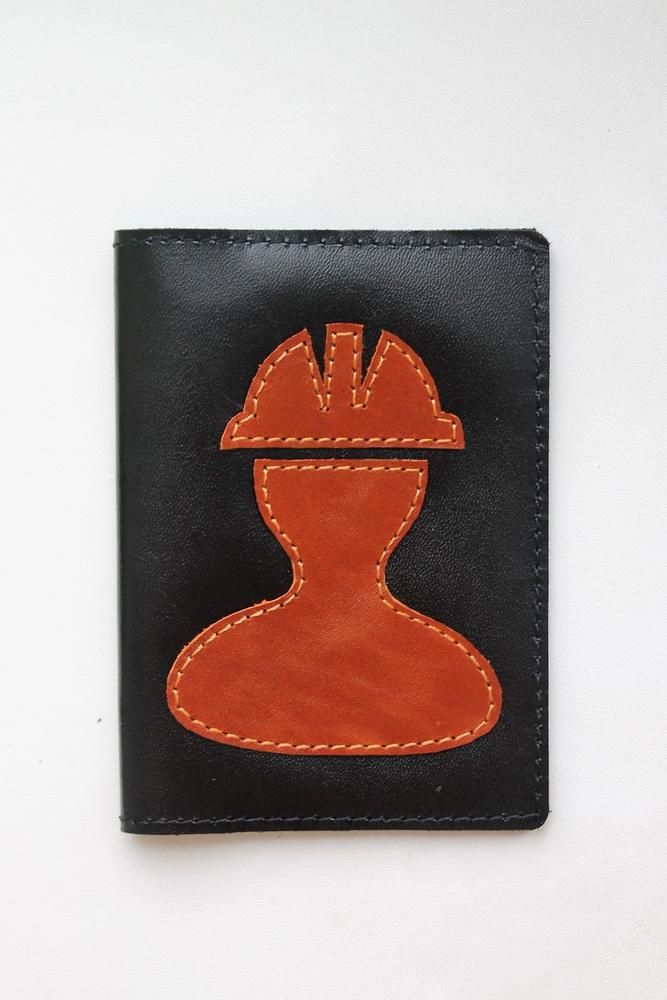 "Обложка на паспорт ""Строитель"""