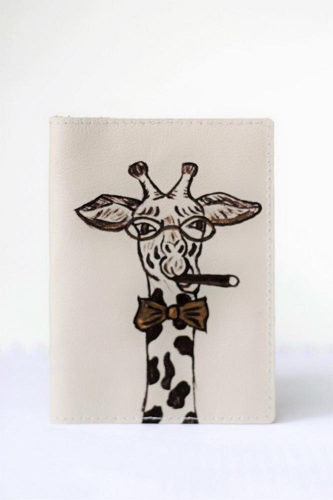 """Обложка на паспорт """"Жираф"""""""