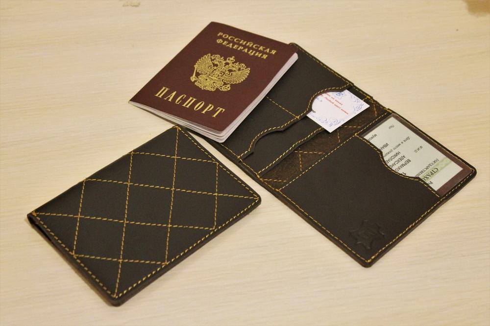 """Обложка на паспорт """"Дублин"""""""