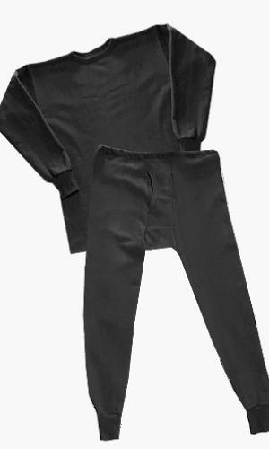 Нательное бельё Алекс (черный)Домашние костюмы<br>Белье состоит из кальсон и фуфайки с длинным рукавом, по низу обработанных трикотажными манжетами. Предназначен для защиты от пониженных температур. Размер: 52-54<br><br>Принадлежность: Мужская одежда<br>Основной материал: Футер<br>Страна - производитель ткани: Россия, г. Иваново<br>Вид товара: Одежда<br>Материал: Футер с начесом<br>Тип застежки: Без застежки<br>Состав: 100% хлопок<br>Длина рукава: Длинный<br>Длина: 19<br>Ширина: 17<br>Высота: 9<br>Размер RU: 52-54
