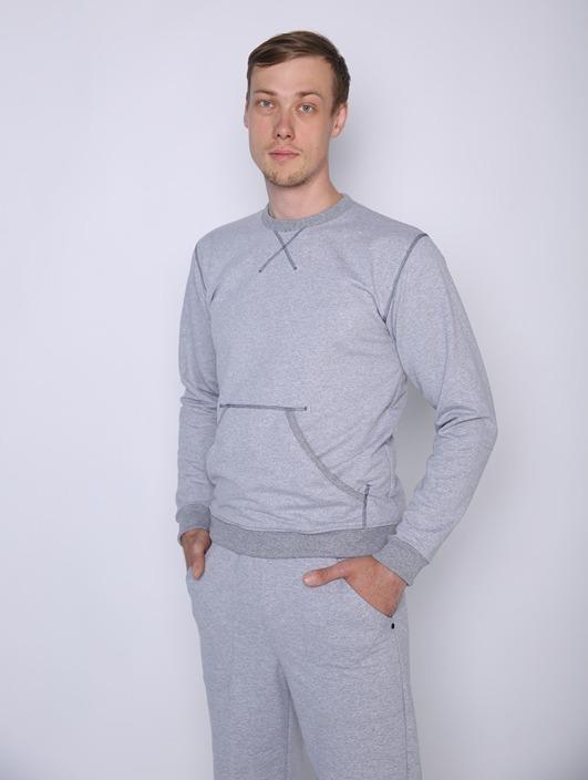 Свитшот мужской МаксЛегкие<br>Размер: 46<br><br>Принадлежность: Мужская одежда<br>Основной материал: Футер<br>Страна - производитель ткани: Россия, г. Иваново<br>Вид товара: Одежда<br>Материал: Футер с лайкрой<br>Тип застежки: Без застежки<br>Длина рукава: Длинный<br>Длина: 18<br>Ширина: 12<br>Высота: 7<br>Размер RU: 46