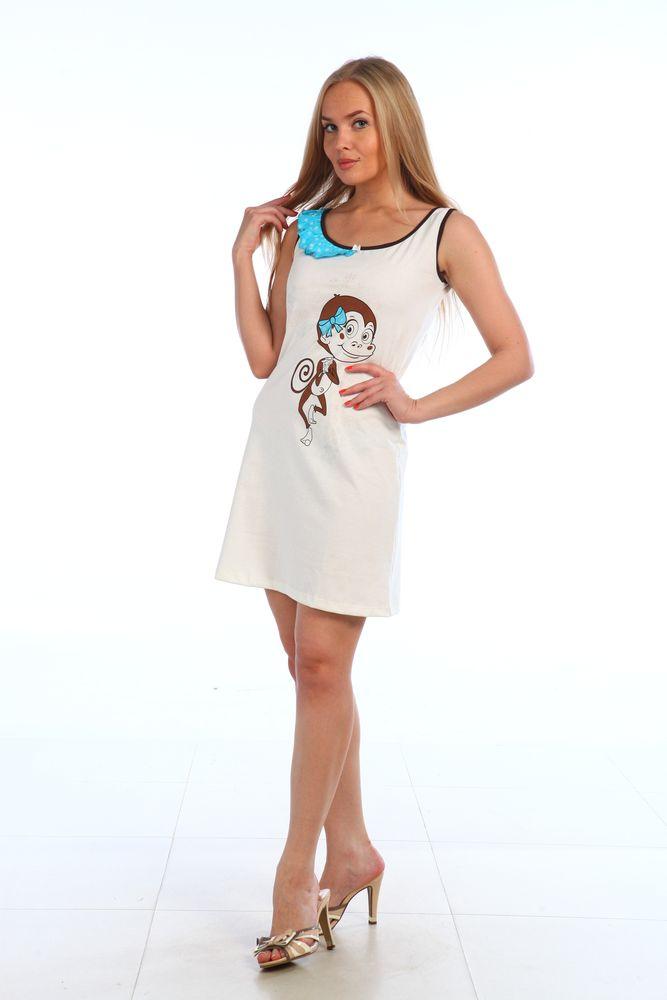 Ночная сорочка ЛинаСорочки и ночные рубашки<br>Размер: 48<br><br>Высота: 7<br>Размер RU: 48