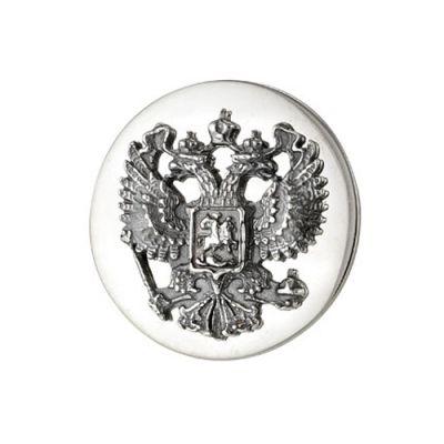 """Значок серебряный """"930641"""""""
