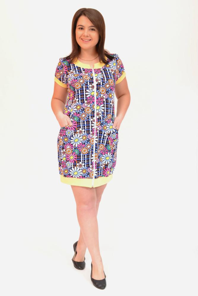 Халат женский АльбаЛегкие халаты<br>Размер: 52<br><br>Высота: 9<br>Размер RU: 52