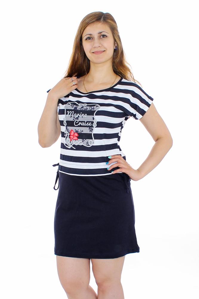 Туника женская КруизТуники<br>Размер: 54<br><br>Принадлежность: Женская одежда<br>Основной материал: Кулирка<br>Вид товара: Одежда<br>Материал: Кулирка<br>Длина: 18<br>Ширина: 12<br>Высота: 7<br>Размер RU: 54
