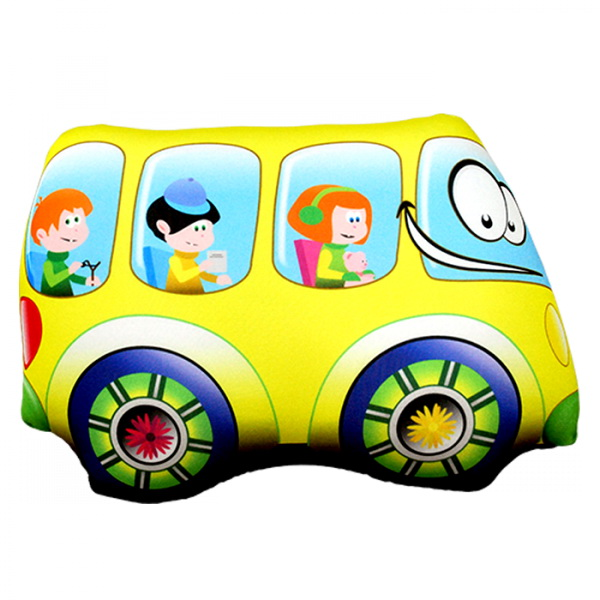 "Антистрессовая игрушка ""Желтый автобус"" 32х24"