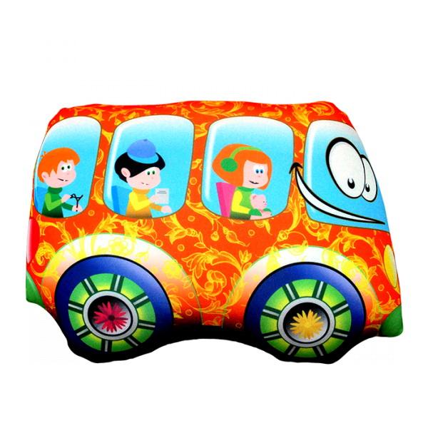 """Антистрессовая игрушка """"Оранжевый автобус"""" 32х24"""