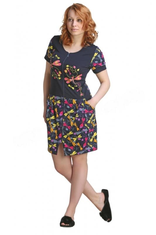 Халат женский РейнаЛегкие халаты<br>Размер: 56<br><br>Высота: 4<br>Размер RU: 56