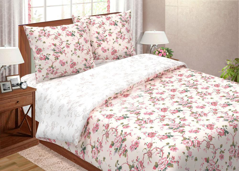 Постельное белье Зефир (поплин) 2 спальныйПоплин<br>Размер: 2 спальный<br><br>Высота: 7<br>Размер RU: 2 спальный