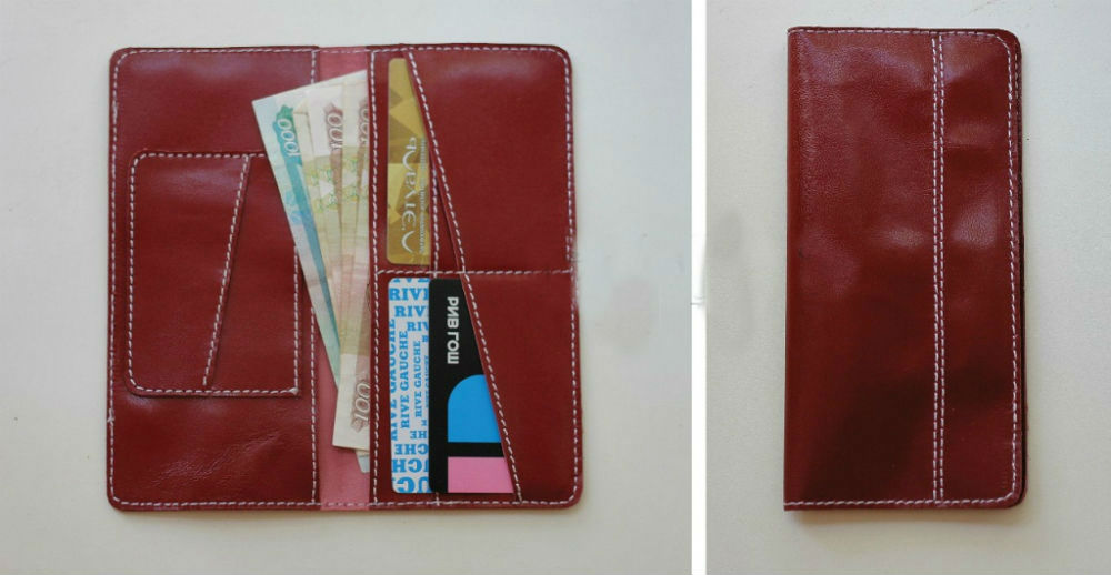 """Бумажник кожаный """"Сан-Франциско"""""""