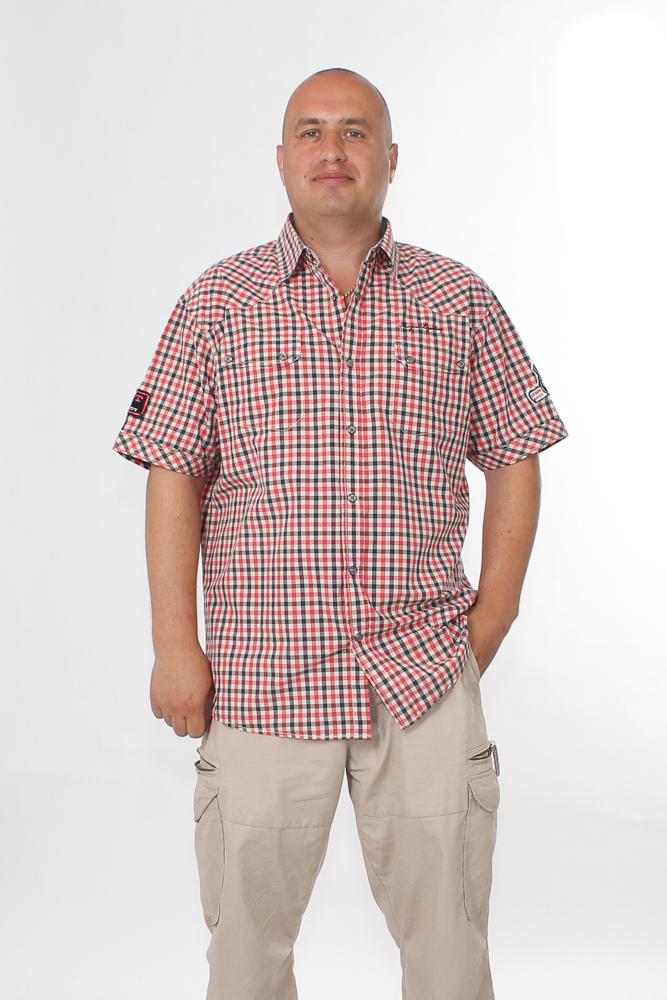 "Рубашка мужская ""Борис"" 54 от Grandstock"
