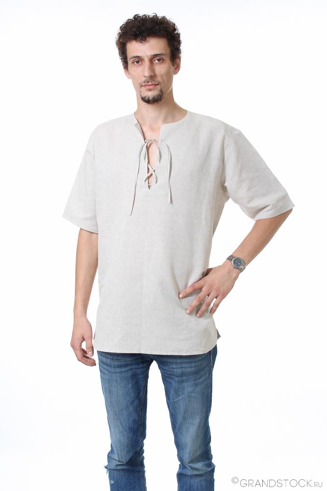 Рубашка мужская из льна ДиегоРубашки<br>Размер: 52<br><br>Принадлежность: Мужская одежда<br>Основной материал: Лен<br>Страна - производитель ткани: Россия, г. Иваново<br>Вид товара: Одежда<br>Материал: Лен<br>Длина рукава: Короткий<br>Длина: 18<br>Ширина: 12<br>Высота: 7<br>Размер RU: 52
