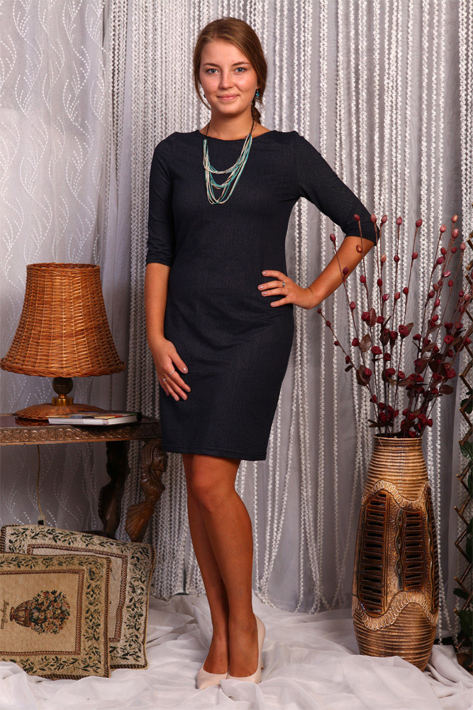 Платье женское СилуэтПлатья<br>Размер: 54<br><br>Высота: 7<br>Размер RU: 54
