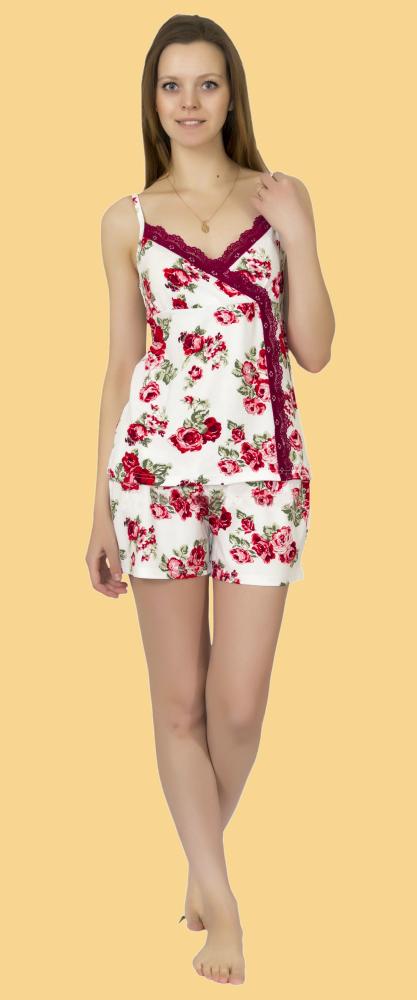 Пижама женская КайсаПижамы<br>Размер: 44<br><br>Принадлежность: Женская одежда<br>Основной материал: Вискоза<br>Вид товара: Одежда<br>Материал: Вискоза<br>Длина: 18<br>Ширина: 12<br>Высота: 7<br>Размер RU: 44