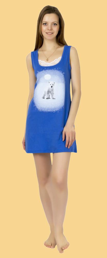 Ночная сорочка УмкаСорочки и ночные рубашки<br>Размер: 50<br><br>Принадлежность: Женская одежда<br>Основной материал: Кулирка<br>Вид товара: Одежда<br>Материал: Кулирка<br>Длина: 18<br>Ширина: 12<br>Высота: 7<br>Размер RU: 50