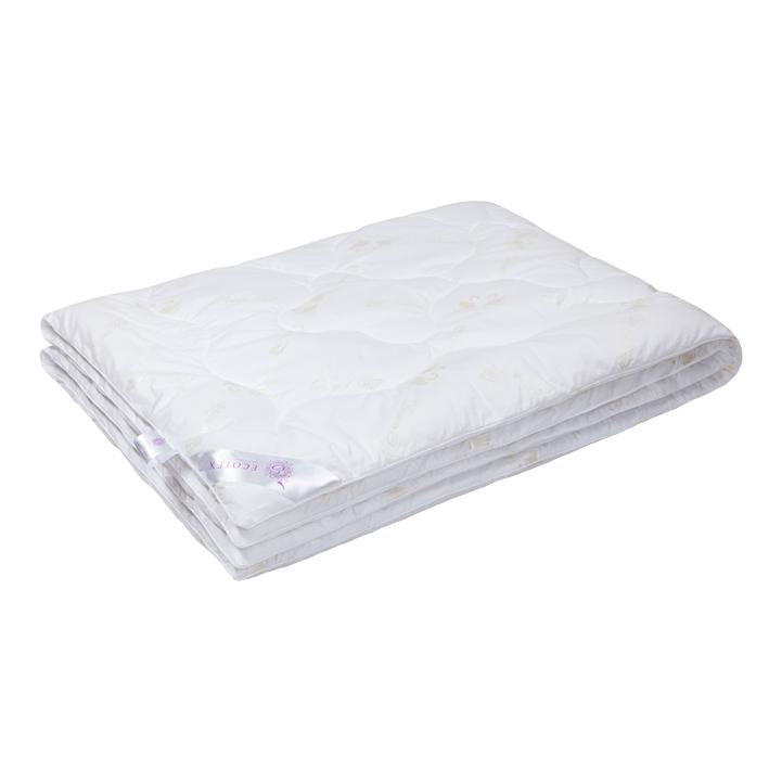 """Одеяло зимнее """"Лея"""" (лебяжий пух, перкаль) 1,5 спальный (140*205)"""
