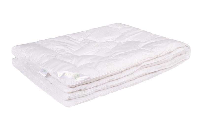 """Одеяло зимнее """"Море"""" (морские водоросли, перкаль) 1,5 спальный (140*205)"""