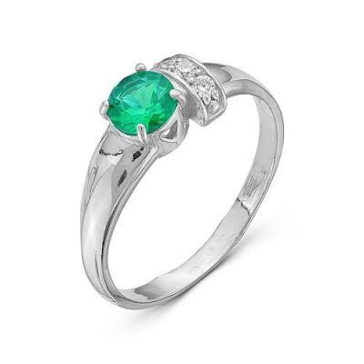 Кольцо серебряное 2386812Д7Серебряные кольца<br>Вес  2,09<br>Вставка  фианиты<br>Покрытие  родирование Размер: 17.5<br><br>Высота: 3<br>Размер RU: 17.5