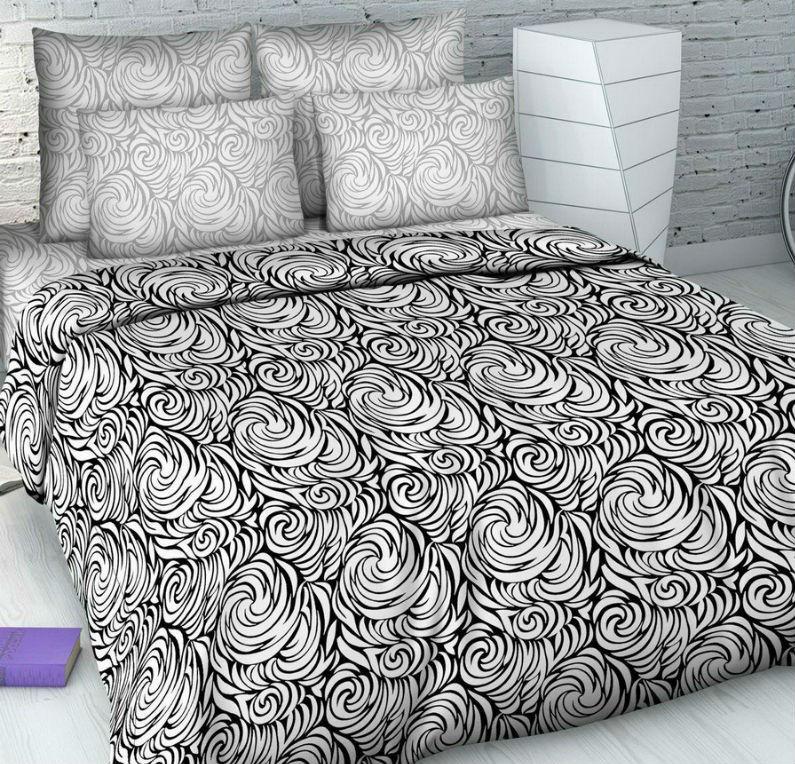Постельное белье Стильный дуэт (бязь) 2 спальныйПРЕМИУМ<br>Размер: 2 спальный<br><br>Высота: 8<br>Размер RU: 2 спальный