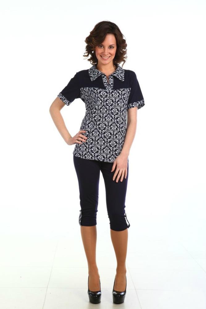 Костюм женский ЭльмираЛетние костюмы<br>Размер: 48<br><br>Высота: 7<br>Размер RU: 48