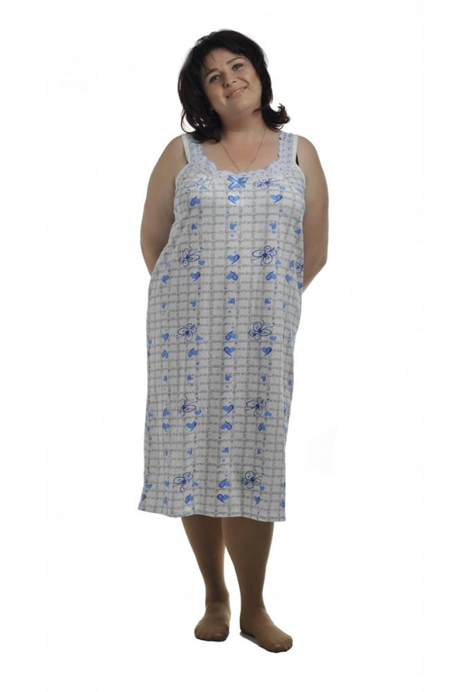 Ночная сорочка СафияСорочки и ночные рубашки<br>Размер: 62<br><br>Высота: 7<br>Размер RU: 62