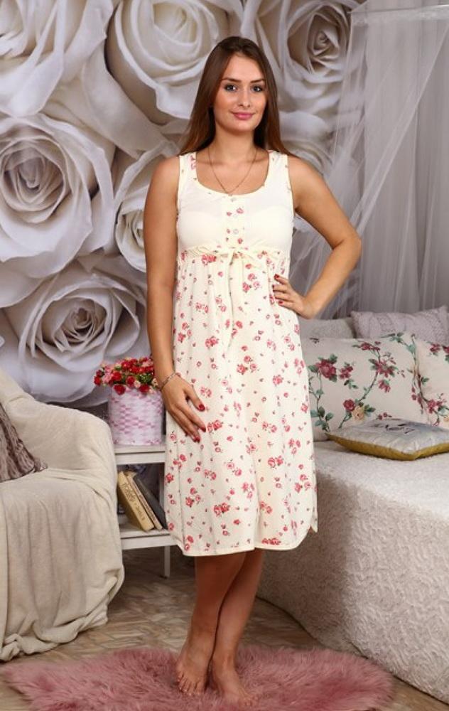 Ночная сорочка КатринСорочки и ночные рубашки<br>Размер: 46<br><br>Высота: 7<br>Размер RU: 46