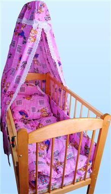 Набор в кроватку с одеялом и подушкой (бязь)Наборы в кроватку, в коляску<br>Определиться с расцветкой Вы можете здесь<br>КПБ (бязь), бампер, балдахин, одеяло 110х140 (синтепон), подушка 40х60 (синтепон)<br><br>Принадлежность: Детская одежда<br>Возраст: Младенец (0-12 месяцев)<br>Пол: Унисекс<br>Основной материал: Бязь<br>Страна - производитель ткани: Россия, г. Иваново<br>Вид товара: Детская одежда<br>Материал: Бязь<br>Длина: 30<br>Ширина: 20<br>Высота: 11