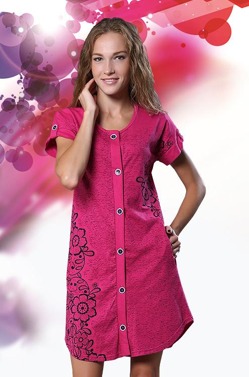 Халат женский ДенимЛегкие халаты<br>Размер: 58<br><br>Высота: 9<br>Размер RU: 58