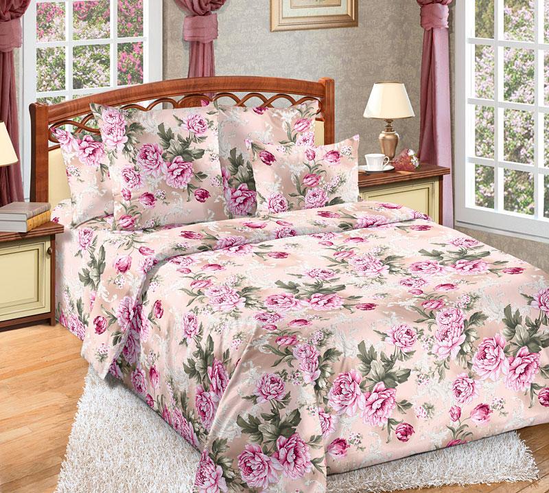 Постельное белье Белый сад (бязь) 2 спальныйПРЕМИУМ<br>Размер: 2 спальный<br><br>Высота: 8<br>Размер RU: 2 спальный