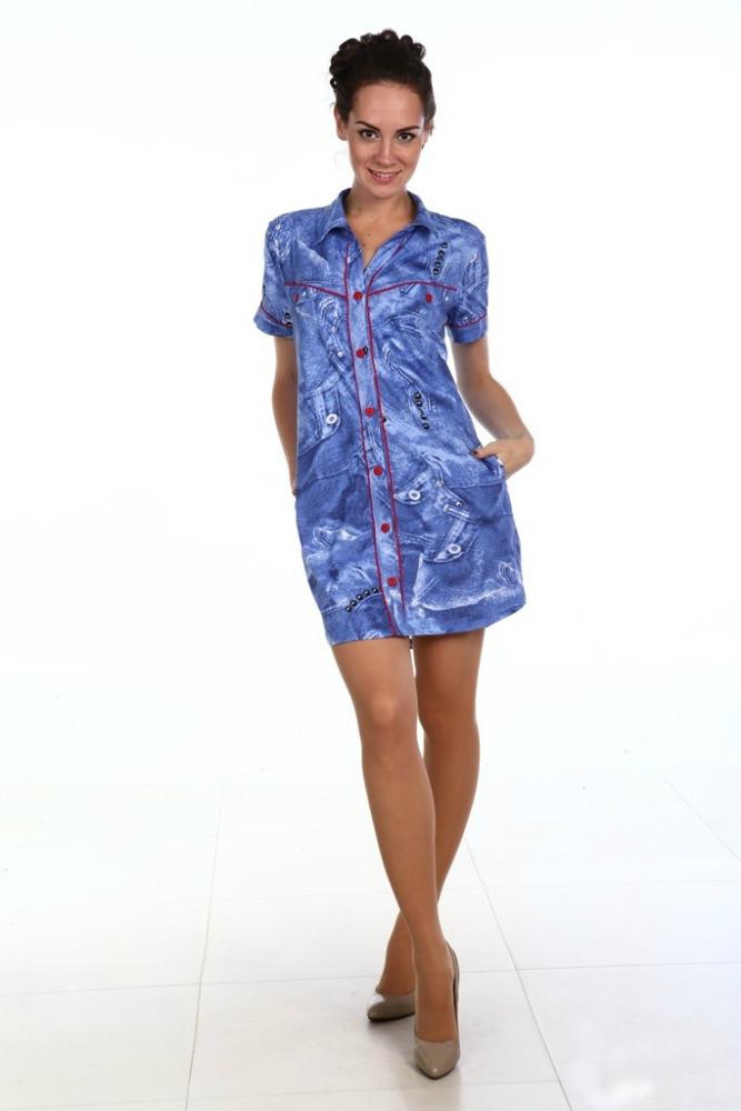 Рубашка женская ДжениферРубашки<br>Размер: 60<br><br>Высота: 7<br>Размер RU: 60