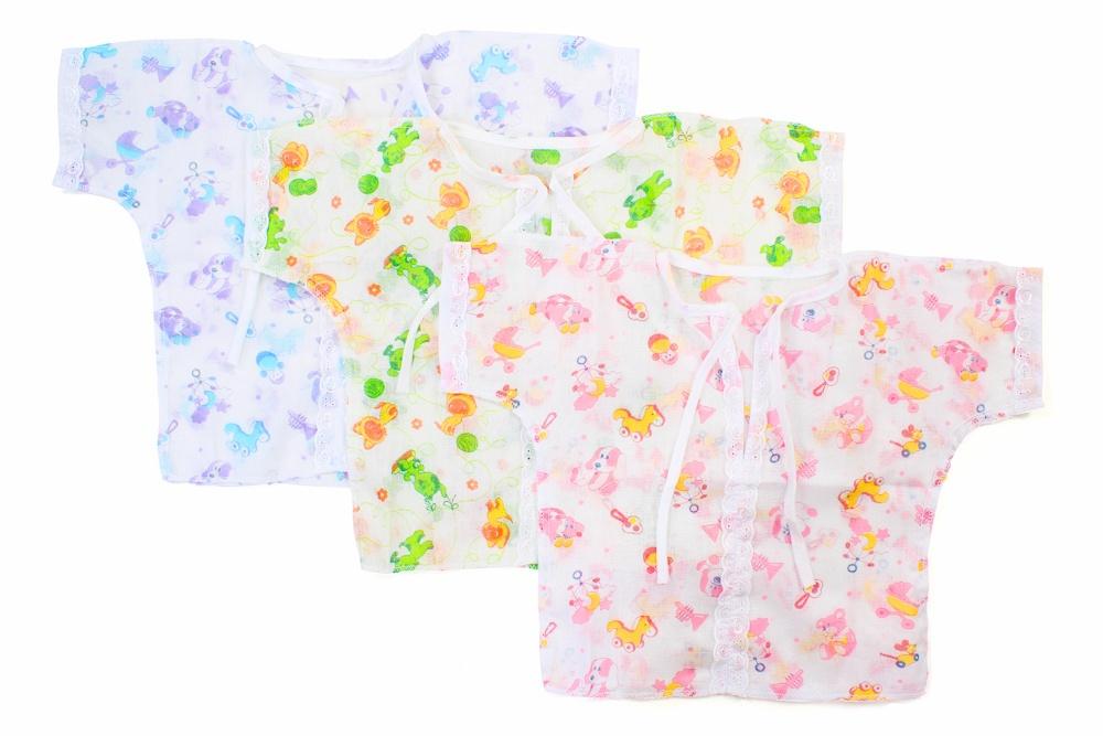 Рубашечка с кружевом ситцевая Зайчик 18Распашонки и кофточки<br>Определиться с расцветкой Вы можете здесь<br>Ситцевая детская одежда - это всегда яркиq и милыq дизайн, бесподобные рисунки, легкость и удобство при носке. Если вы еще не приобрели ничего ситцевого для своего малыша, то взгляните на детскую рубашечку Зайчик.<br>Она предназначена для новорожденных малышей от одного дня до года. Данная рубашечка имеет тонкую и легкую текстуру, которая подарит малышу комфорт во время теплых летних прогулок. И она украшена не только яркой расцветкой, но и кружевом, что придает модели еще больше очарования.<br>А приобрести детскую рубашечку Зайчик вы можете прямо на сайте, в режиме онлайн и с доставкой на дом! Размер: 18<br><br>Высота: 2<br>Размер RU: 18