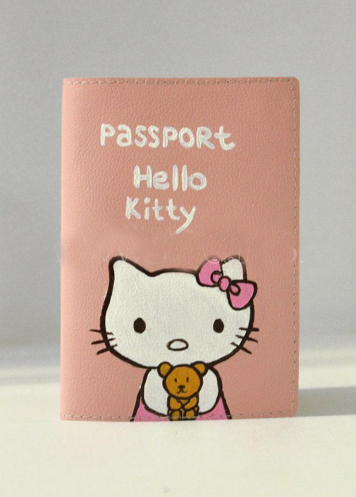 "Обложка для паспорта ""Hello Kitty"""