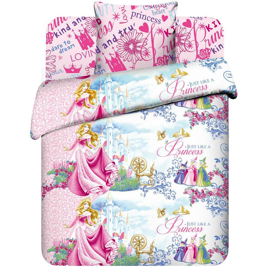 Постельное белье Замок Авроры (бязь) 1,5 спальныйДетские КПБ<br>Размер: 1,5 спальный<br><br>Высота: 8<br>Размер RU: 1,5 спальный