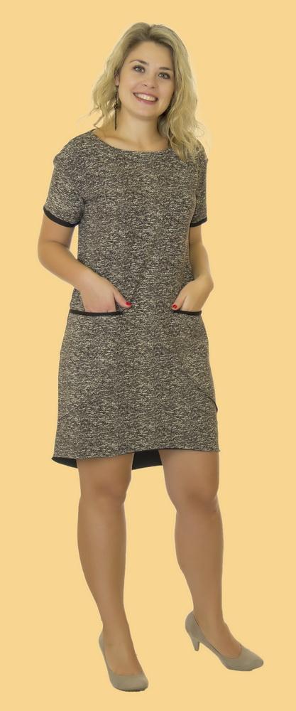 Платье женское МиреллаПлатья<br>Размер: 52<br><br>Принадлежность: Женская одежда<br>Основной материал: Футер<br>Страна - производитель ткани: Россия, г. Иваново<br>Вид товара: Одежда<br>Материал: Футер<br>Длина рукава: Короткий<br>Длина: 18<br>Ширина: 12<br>Высота: 7<br>Размер RU: 52