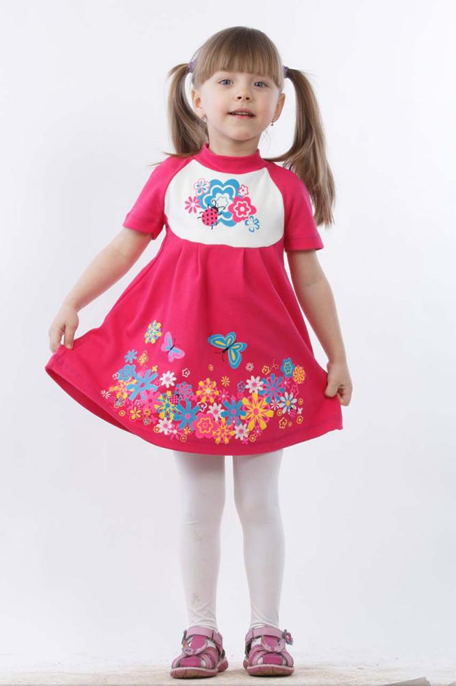 Платье Веснушка (интерлок)Платья<br>Ваша малышка восхищается тем, сколько красивых платьев в гардеробе ее мамы? А почему бы вам в таком случае не порадовать ее красивым детским платьем Веснушка?   Данное платье, сшитое из интерлока, сможет привести в настоящий восторг любую девочку, потому что оно имеет прелестный дизайн с яркой расцветкой и цветочным узором. Кроме того, фасон платья позволяет девочке в нем двигаться абсолютно свободно и не чувствовать себя стесненной в движении.   А вы оцените платье Веснушка по достоинству, когда поймете, что при своей невысокой стоимости оно имеет хорошее качество и отличается высокой износостойкостью!    Размер: 32<br><br>Принадлежность: Детская одежда<br>Возраст: Дошкольник (1-6 лет)<br>Пол: Девочка<br>Основной материал: Интерлок<br>Страна - производитель ткани: Россия, г. Иваново<br>Вид товара: Детская одежда<br>Материал: Интерлок<br>Длина: 12<br>Ширина: 10<br>Высота: 3<br>Размер RU: 32
