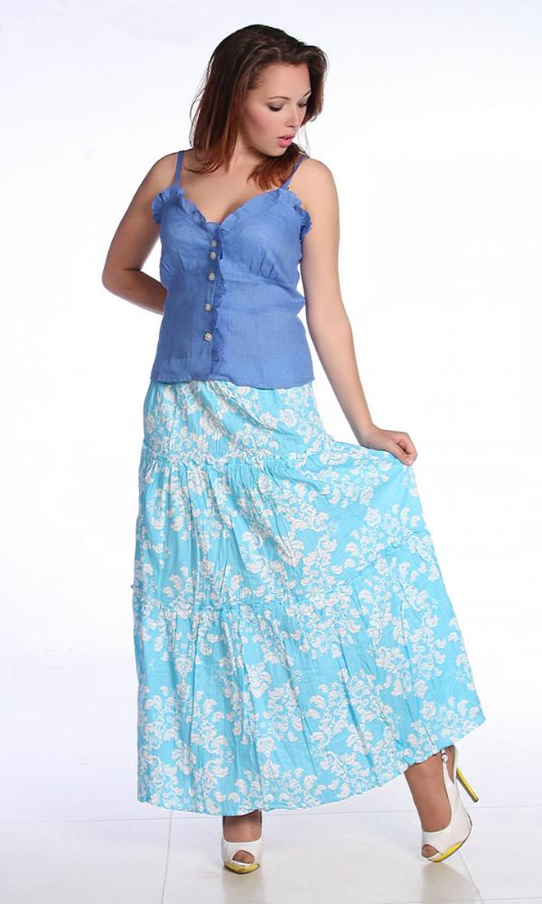 Льняная юбка с рюшами Джейн (большемерка)Юбки<br>Предпочитаете романтичные и изящные, женственные вещи? Любите сочетать легкость, красоту, элегантность и игривость? Не знаете, на что на этот раз обратить внимание? На льняную юбку с рюшами Джейн!<br>Переплетение льняных волокон обеспечивает отменные прочностные характеристики, гарантирующие долговечность ткани. Лен идеально дышит, регулирует естественный теплообмен, обладает всеми характерными преимуществами натурального материала в сочетании с естественными теплоизолирующими свойствами.<br>Легкая и воздушная юбка Джейн - большемерка. Она займет в гардеробе достойное место. В ассортименте - несколько цветов, благодаря чему можно создать собственный уникальный и оригинальный образ. <br>Модель является большемеркой:- если вы носите 44 размер, то по данному товару вам нужно выбрать 42 размер- если вы носите 48 размер, то по данному товару вам нужно выбрать 46 размер и т.д.Учитывайте это при выборе размера. Размер: 44<br><br>Принадлежность: Женская одежда<br>Основной материал: Лен<br>Страна - производитель ткани: Россия, г. Пучеж<br>Вид товара: Одежда<br>Материал: Лен<br>Тип застежки: Без застежки<br>Длина: 18<br>Ширина: 12<br>Высота: 7<br>Размер RU: 44