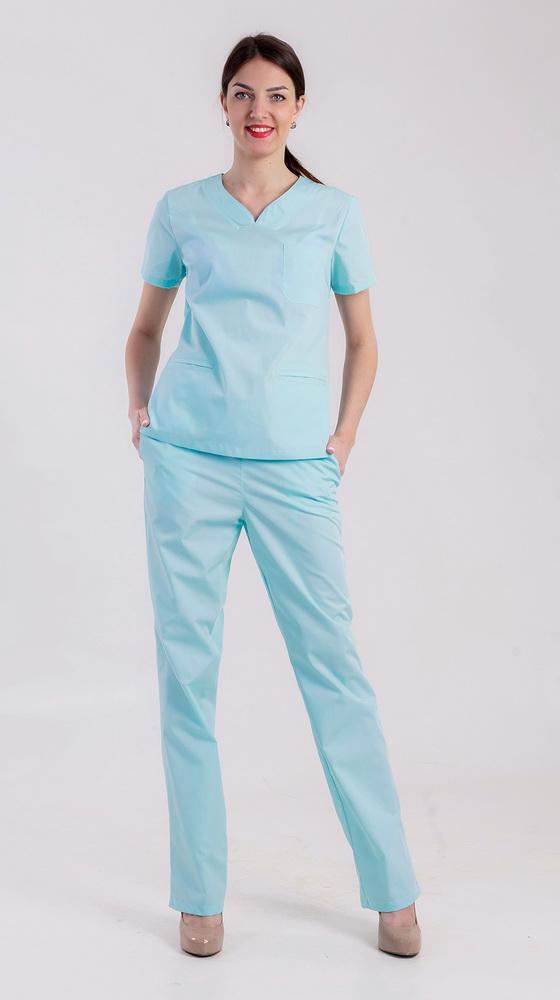 Костюм медицинский МилаДля врачей<br>Размер: 58<br><br>Высота: 7<br>Размер RU: 58