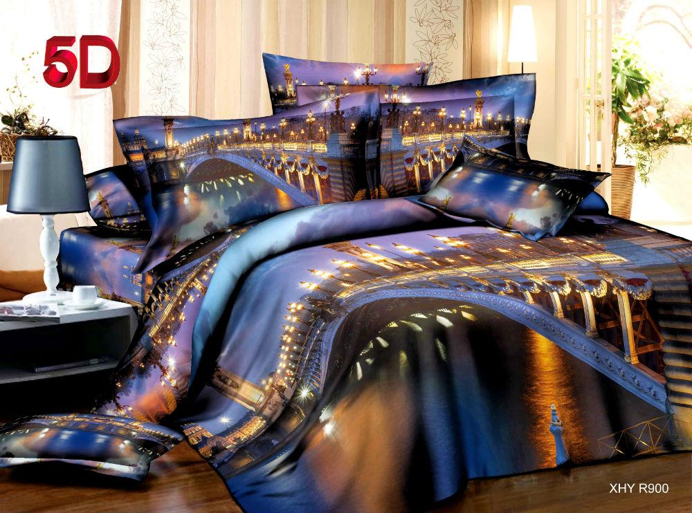 Постельное белье Мегаполис 5D (полиэстер) 2 спальныйМикрофибра<br>Размер: 2 спальный<br><br>Высота: 9<br>Размер RU: 2 спальный