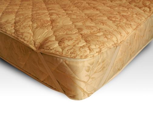 """Наматрасник """"Бамбук"""" (тик) 120х200 смНаматрасники<br>Наматрасник на резинке. Уникальный природный материал на основе бамбукового волокна.<br>Наматрасник имеет резинку на четырех углах для крепления к матрасу. Всесезонное использование.<br>Плотность наполнителя 200г/м2.<br><br>Состав: <br>Ткань: сатин/поплин<br>Наполнитель: бамбуковое волокно термоскрепленное <br>Цвет бежевый жаккард, однотонный с пандой  или с веткой бамбука Размер: 120х200 см<br><br>Уход за вещами: Стирка запрещена, только химчистка<br>Принадлежность: Для дома<br>По назначению: Повседневные<br>Наполнитель: Бамбуковое волокно<br>Крепеж: резинка по углам<br>Основной материал: Тик<br>Страна - производитель ткани: Россия, г. Иваново<br>Вид товара: Матрасы и наматрасники<br>Материал: Тик<br>Сезон: Круглогодичный<br>Плотность: 200 г/кв. м.<br>Длина: 49<br>Ширина: 26<br>Высота: 18<br>Размер RU: 120х200 см"""