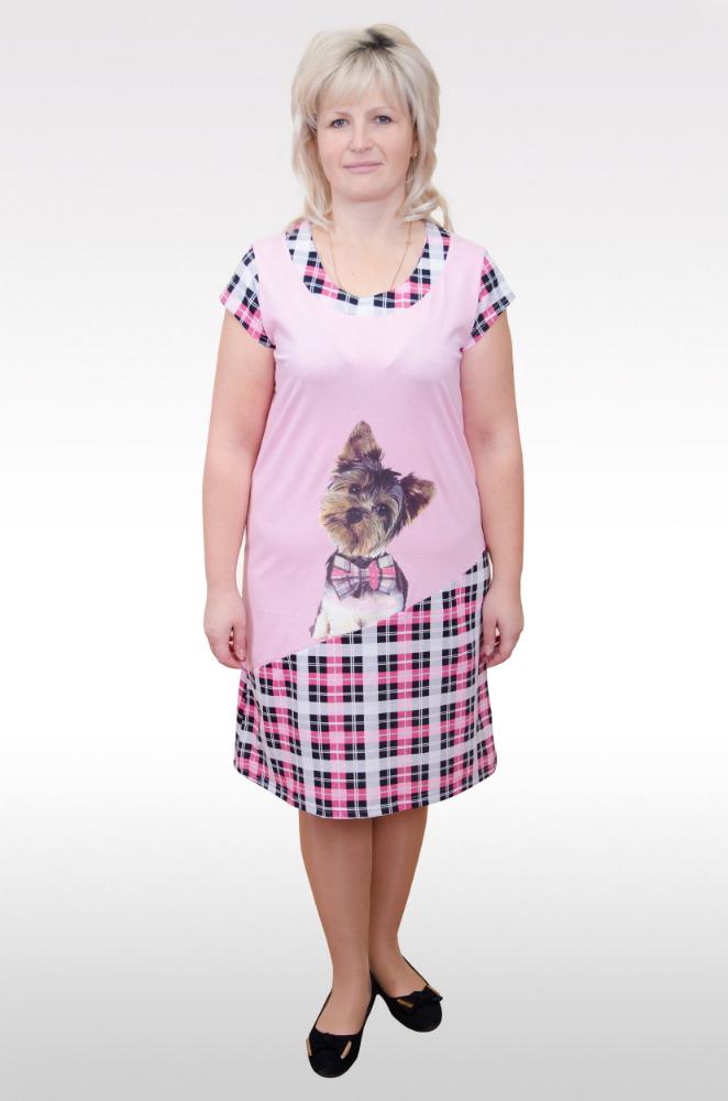 Ночная сорочка ЙоркСорочки и ночные рубашки<br>Размер: 44<br><br>Высота: 7<br>Размер RU: 44