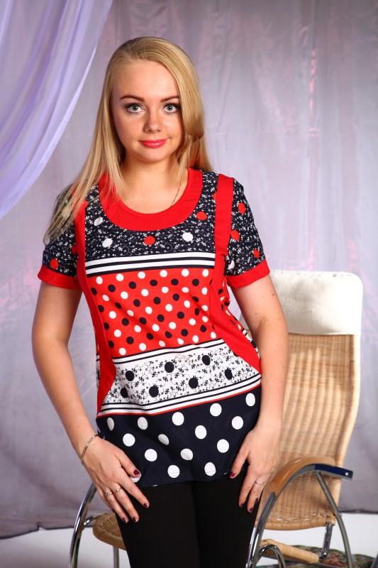 Блузка женская ЭльзаБлузки<br>Размер: 44<br><br>Высота: 7<br>Размер RU: 44