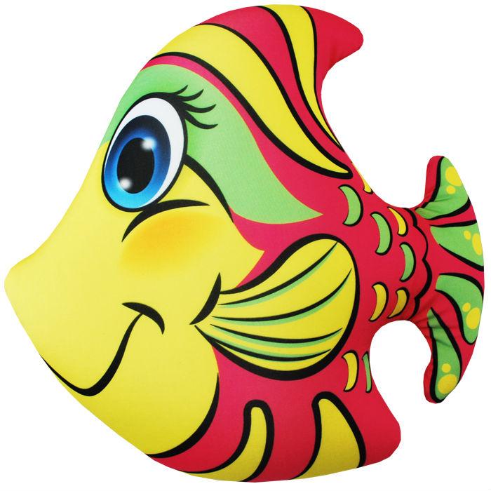 """Антистрессовая игрушка """"Рыбка розовая"""" 33х34"""