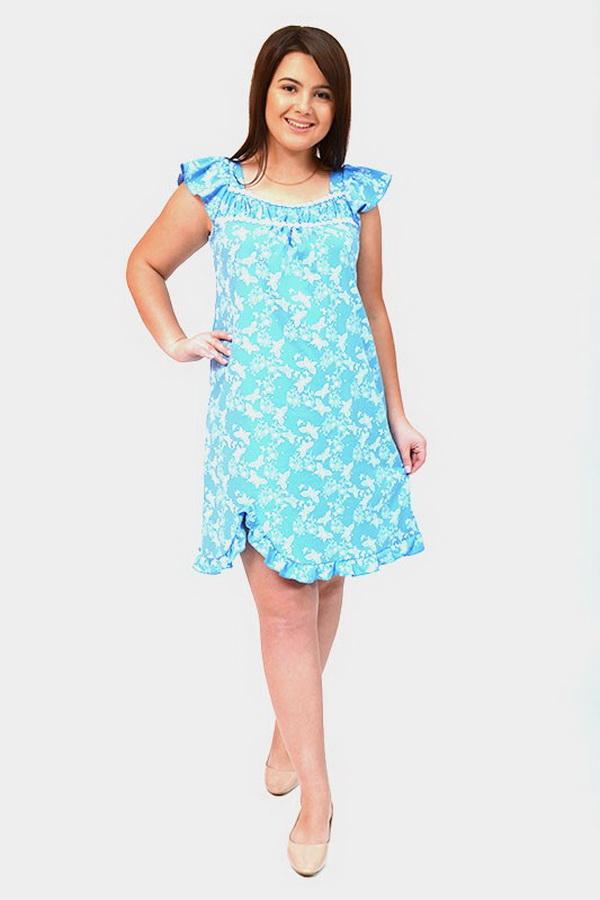 Ночная сорочка ЭрнестаСорочки и ночные рубашки<br>Размер: 46<br><br>Высота: 7<br>Размер RU: 46