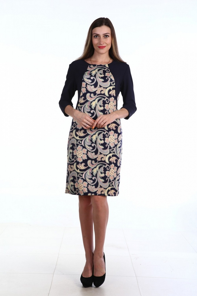 Платье женское ФайнеллаПлатья<br>Размер: 58<br><br>Принадлежность: Женская одежда<br>Основной материал: Милано<br>Страна - производитель ткани: Россия, г. Иваново<br>Вид товара: Одежда<br>Материал: Милано<br>Длина рукава: Средний<br>Длина: 18<br>Ширина: 12<br>Высота: 7<br>Размер RU: 58