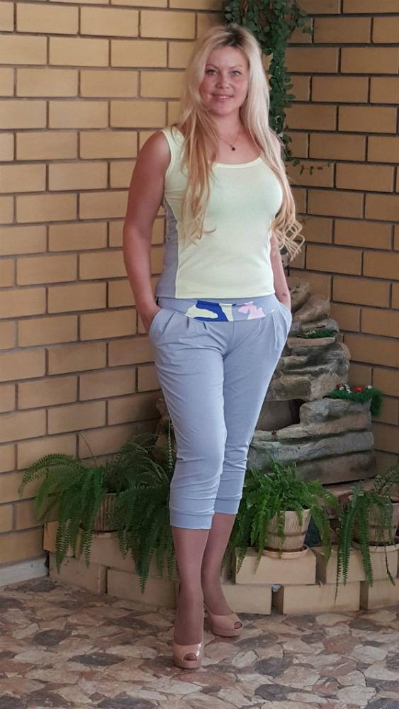 Бриджи женские МэйБриджи<br>Размер: 50<br><br>Высота: 7<br>Размер RU: 50